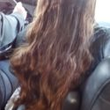 10 inches dark brown virgin hair wavy super shiny hair 2in pony width