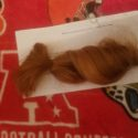 11 inches virgin red hair