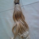 1 and a half inch thick, 13 inch Blonde Virgin Hair