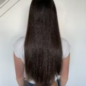 "16"" long Gorgeous, Thick, Shiny, Virgin Brown Hair"