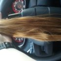14 Inches of Virgin Strawberry Blonde Hair
