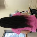 23 inches black virgin hair