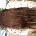 25 inches 3.5 dia extra virgin hair