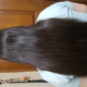 "12"" Asian Virgin Thick Hair"