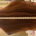 Virgin thick male hair 33 inches