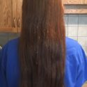 "15"" of Beautiful Virgin Naturally Red Hair"