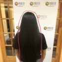 17in black staright virgin hair