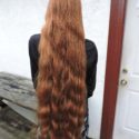 18 inch Virgin Red Hair, Uncut