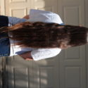 24 inches beautiful dark brown virgin hair; will take best offer