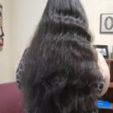 "16"" of Dark Brown Virgin Hair from Non-Smoker"