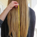 13 Inches of Thick Golden -Blonde Human Hair