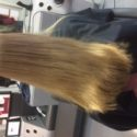 "11"" Virgin Straight Golden Blonde Hair (Caucasian Female)"