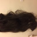 14 inch (35cm) of Healthy, Thick, Dark Brown Hair