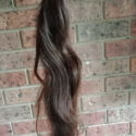 "24"" INCHES VIRGIN NATURALLY OMBRÉ IRISH - AUSTRALIAN HAIR"