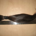 Ukrainian brown 10,5 inches hair