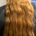 30 Inches of Virgin Light Brown/Dirty Blond Wavy Hair - Grown over about 8 years - $546 OBO