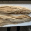 Golden Blonde American Teenager Hair - 8 inches long, 3 inches thick