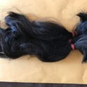 "10"" Virgin Black hair 