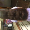 13 inches of straight virgin brown hair