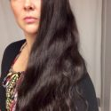 "13"" Caucasian Super Thick Virgin Very Dark Brown Wavy Mermaid Hair"