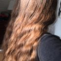 Long Wavy Auburn/Chestnut Virgin Hair