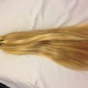10 inch natural virgin blonde hair