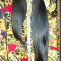 Black asian virgin hair